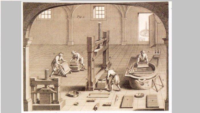 papel xativa e1516948101304 - La primera fábrica de papel de Europa estuvo en Xàtiva