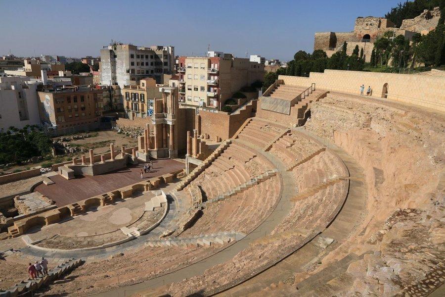 El templo de la Isis egipcia en Cartagena