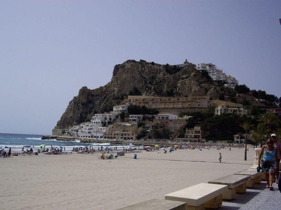 El Tossal de la Cala y el Puig Campana de Benidorm