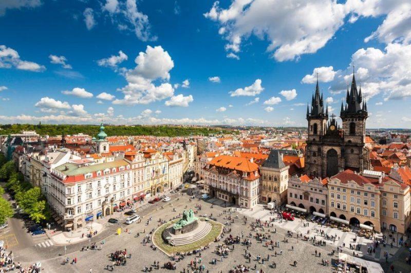 Praga y su belleza legendaria