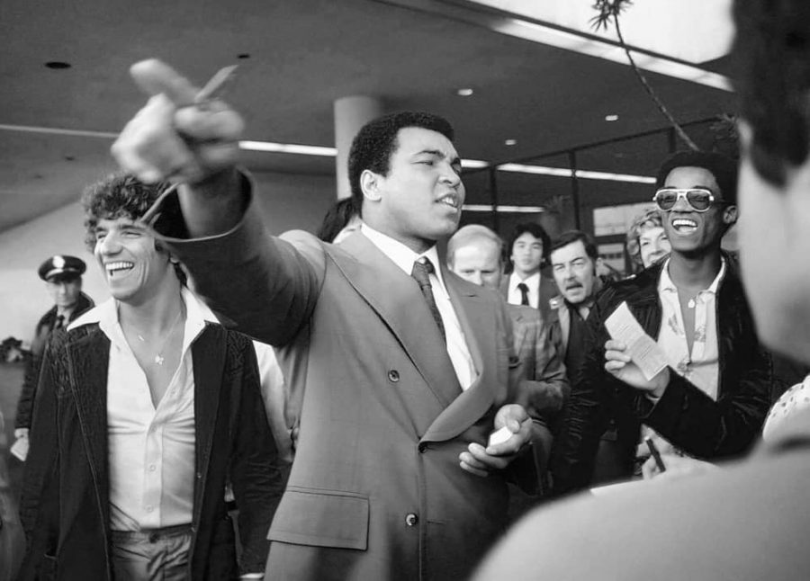 Cassius Clay en Madrid 2